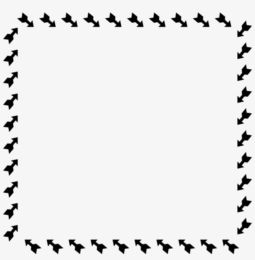 Clipart arrows frame. Arrow border clip art