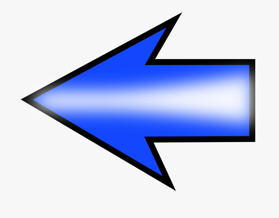 Clipart arrows future. Arrow set left no