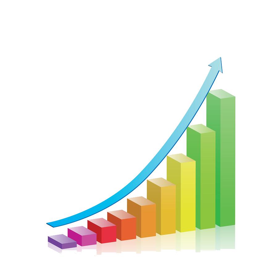 Business png transparent images. Growth clipart profit chart