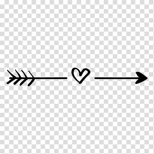 Arrow computer icons boho. Clipart arrows heart