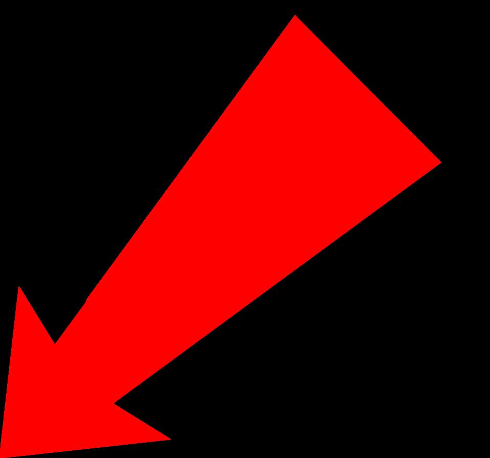 Crucifix clipart slanted. Red vertical arrow transparent