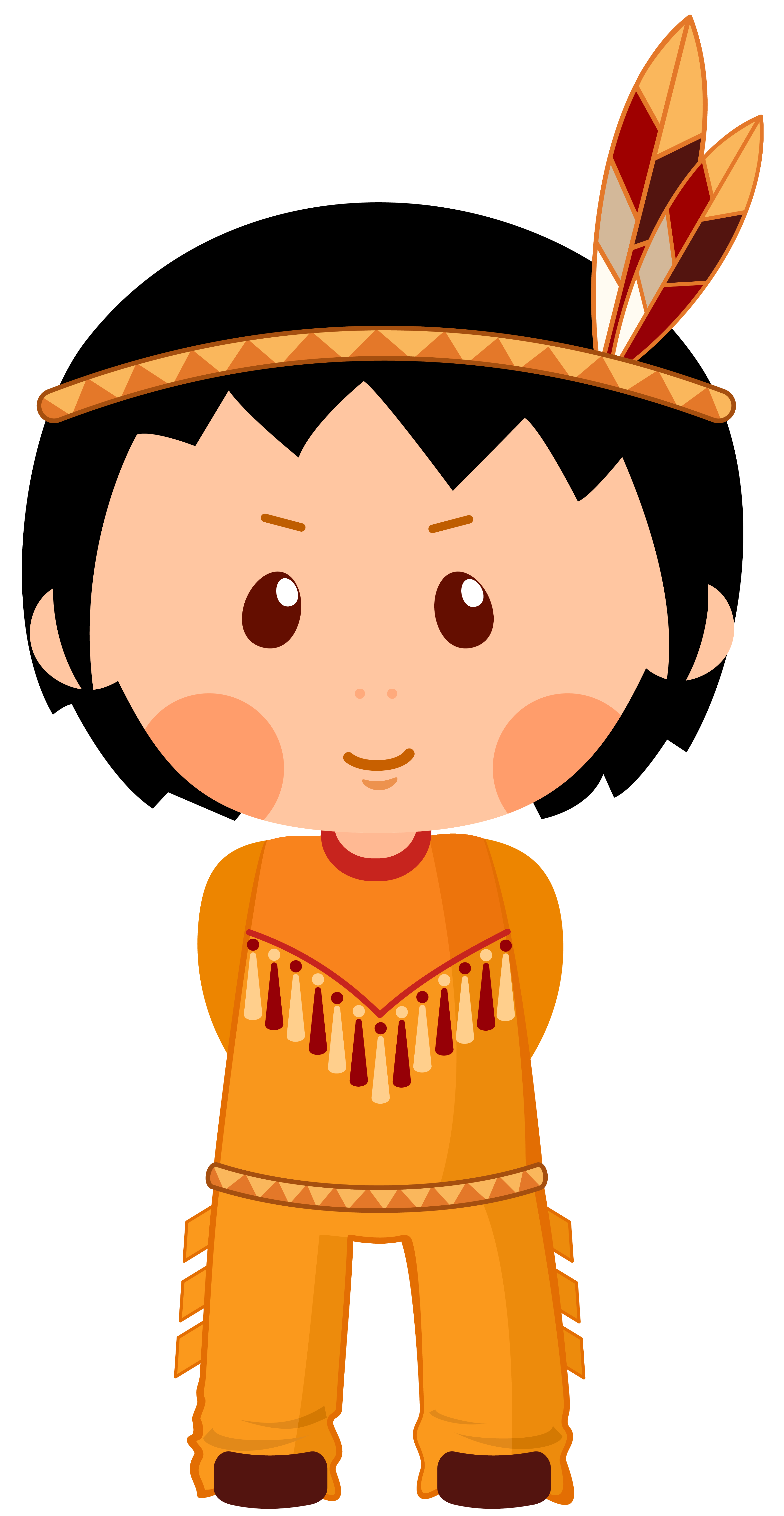 Woodland clipart teepee. Native american boy clipar