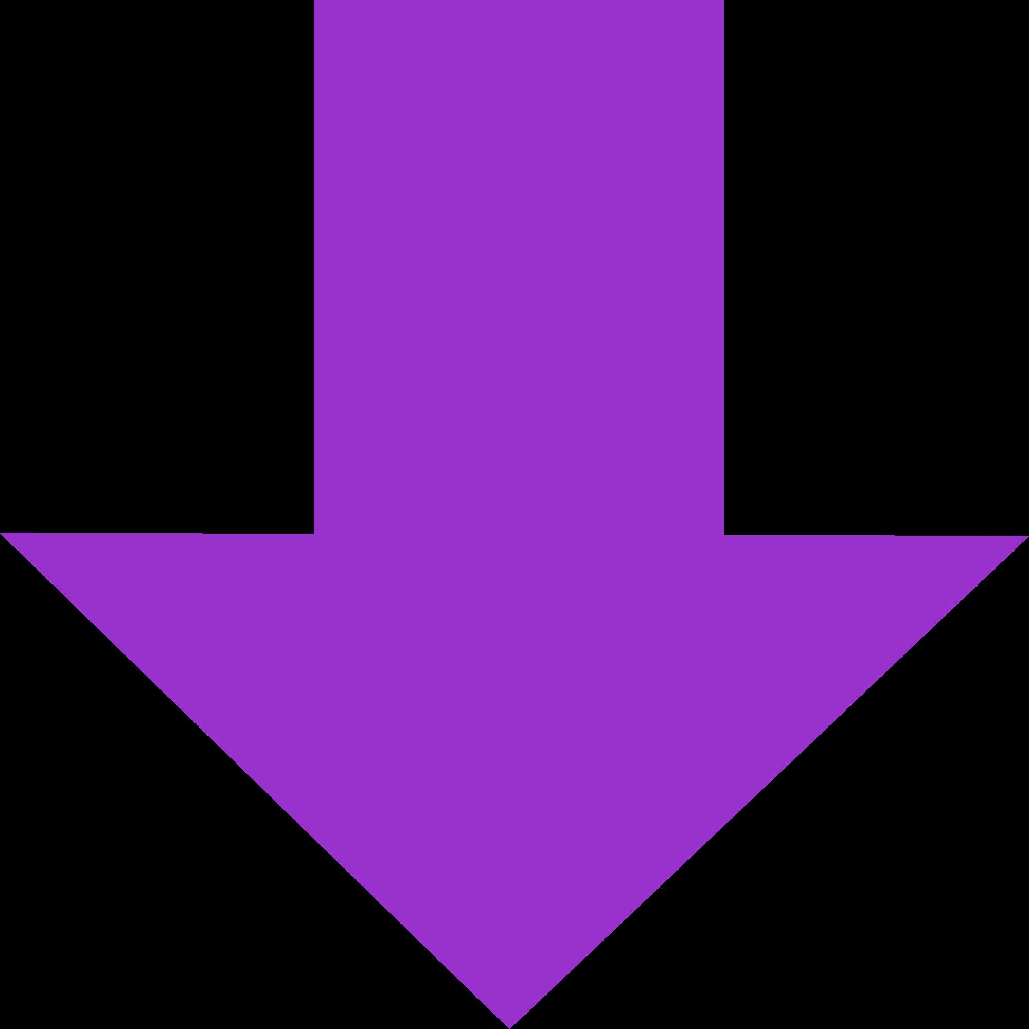 Pointing down arrow shop. Clipart arrows plain