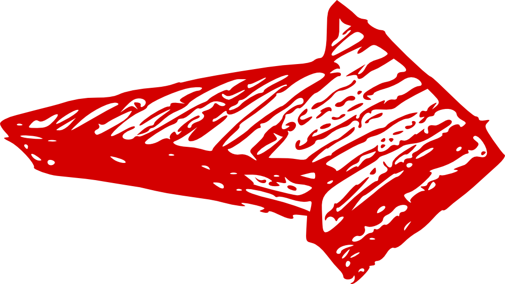Heavy arrow right transparent. Clipart arrows red