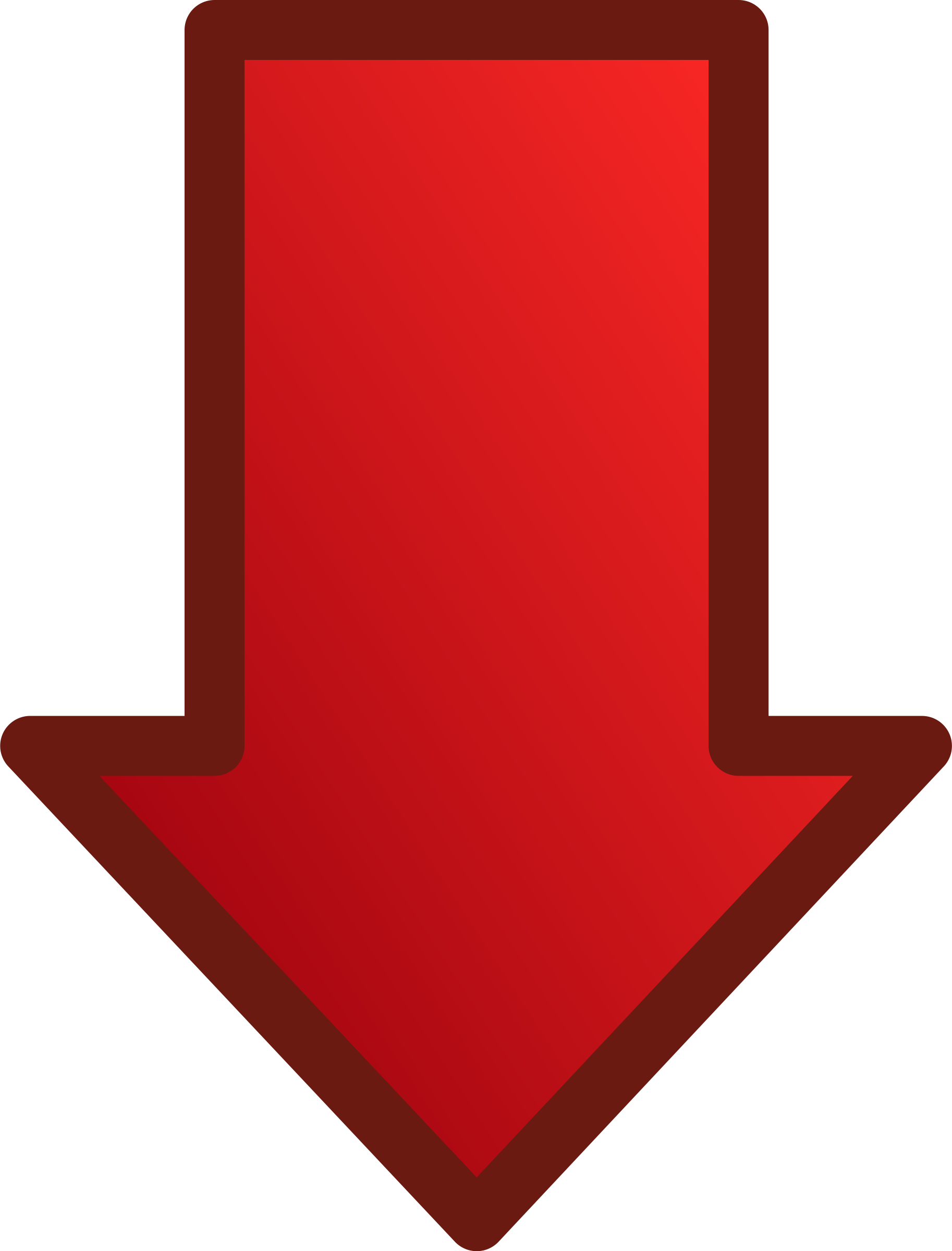 Set big image png. Clipart arrows red