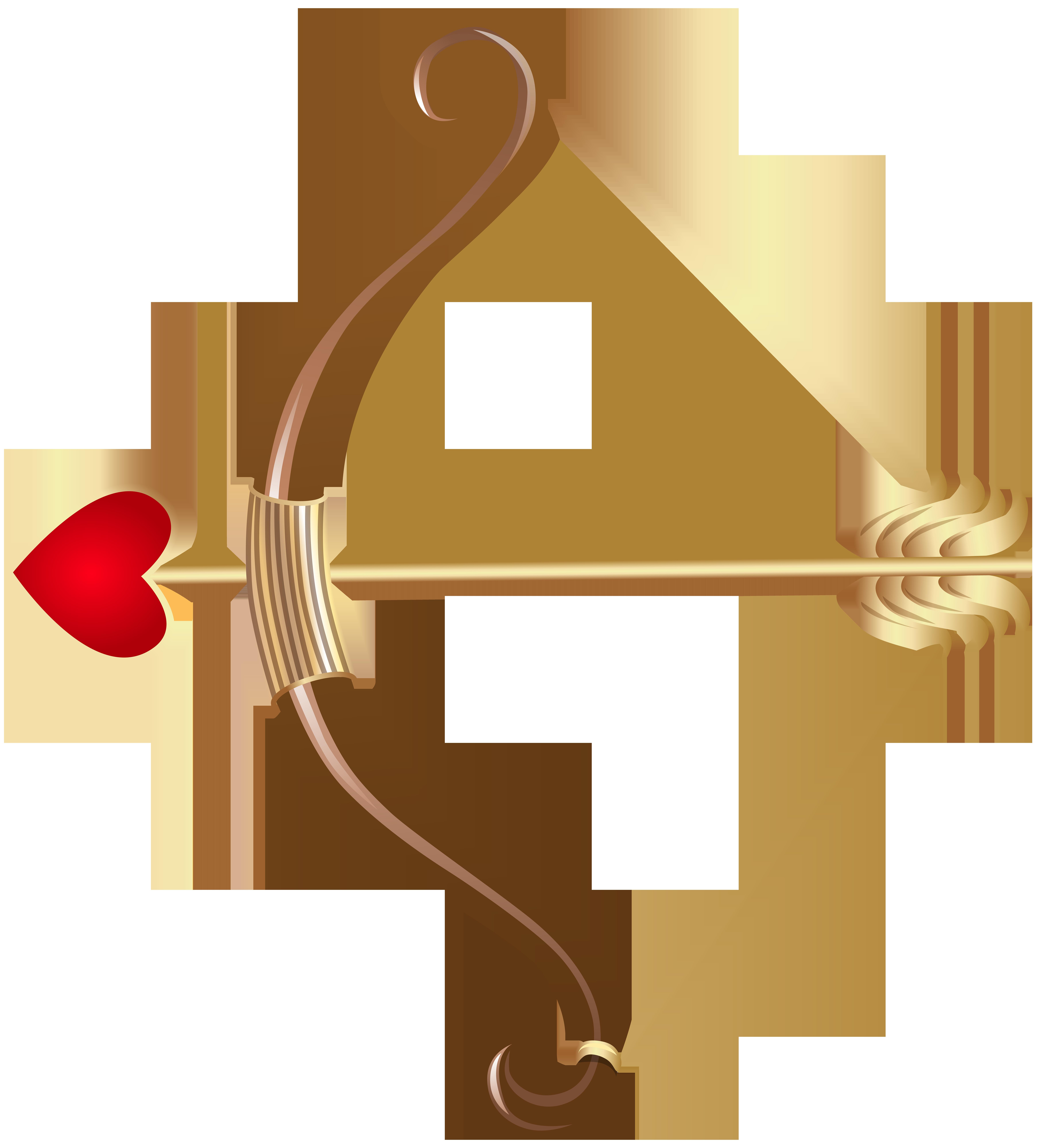 Cupid transparent png clip. Clipart bow bow arrow