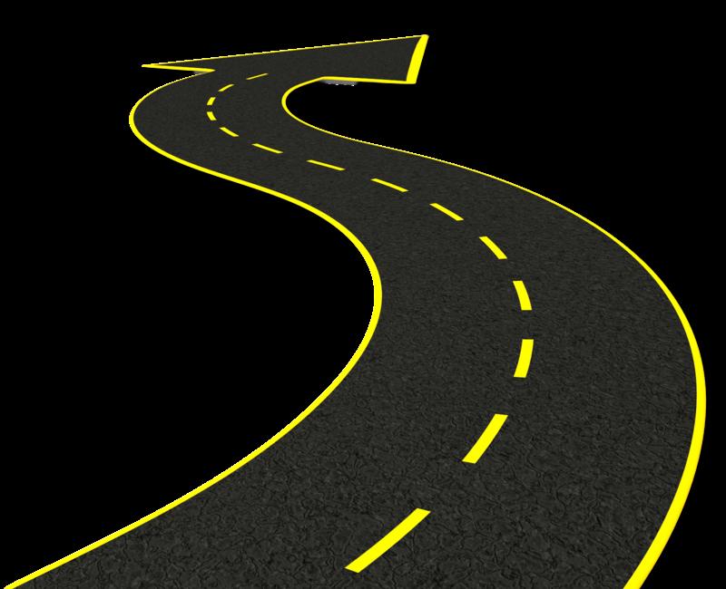 Highway clipart winding road, Highway winding road ...