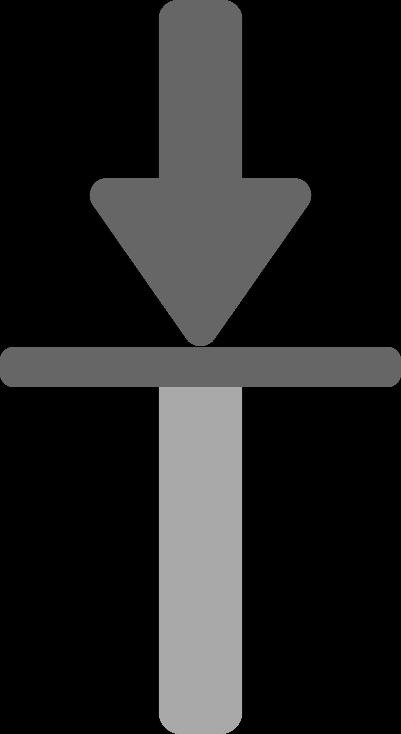 Input icon big image. Clipart road arrow