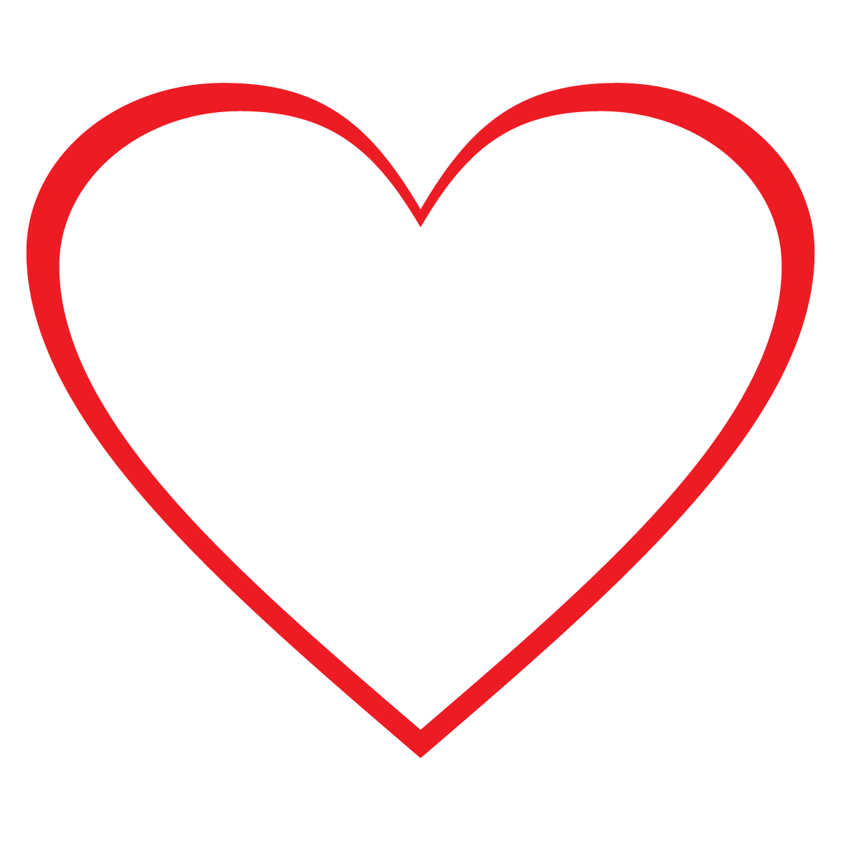 Weight clipart heart. Free clip art of
