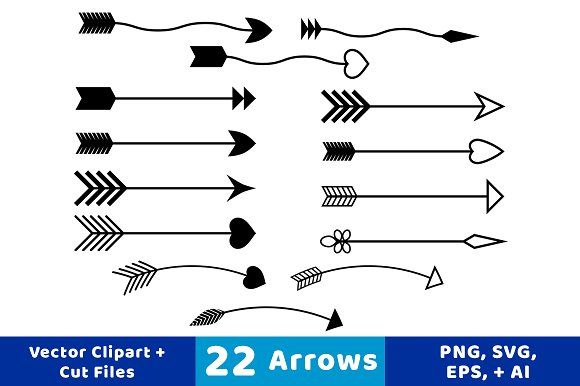 clipart arrows vector