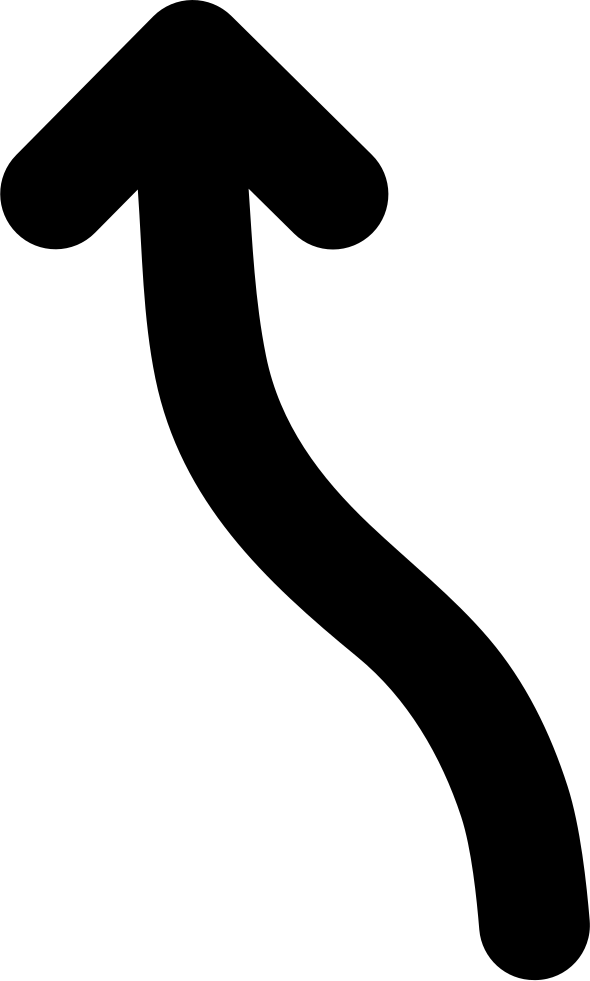 Arrow pointing up svg. Clipart arrows wave