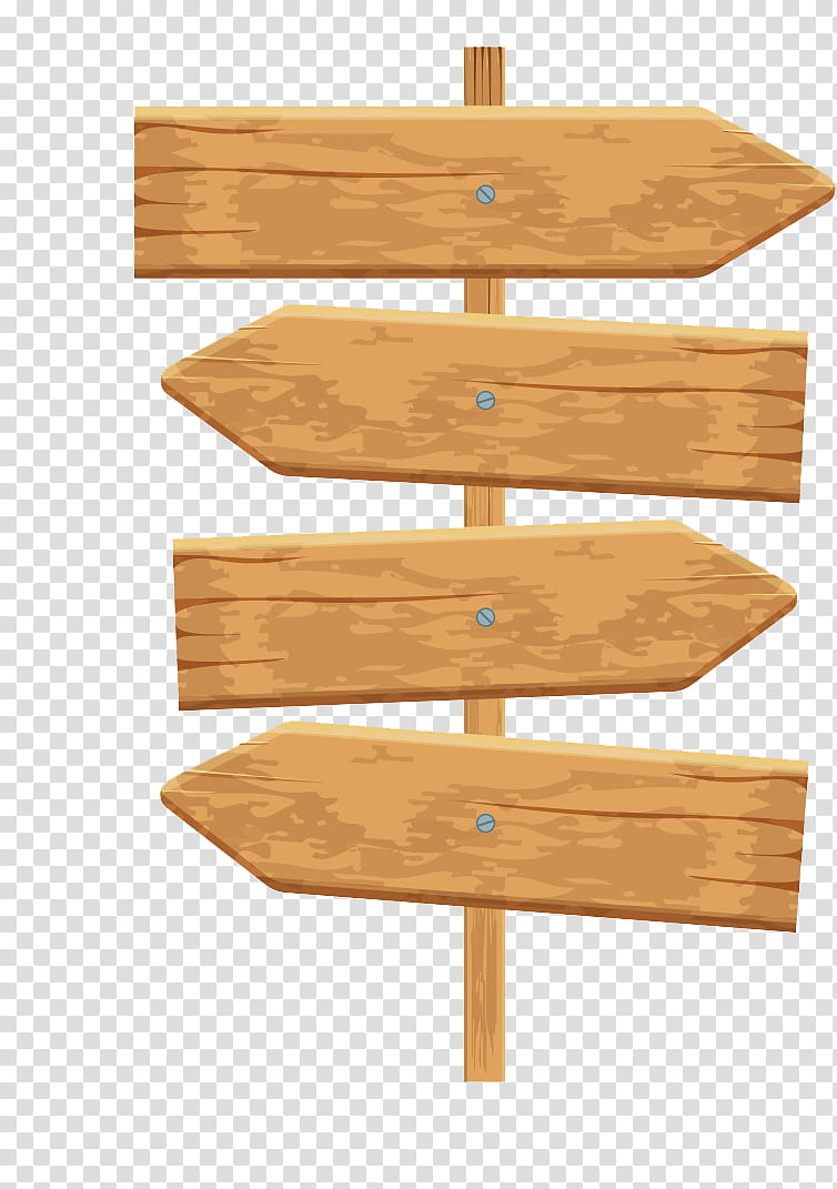 Clipart arrows wood. Wooden signs brown road