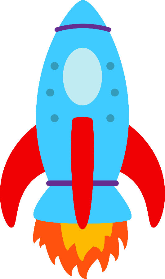 Clipart rocket space transportation. Meios de transporte minus