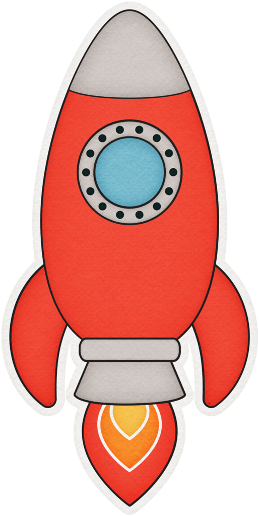 Ufo red png spaces. Clipart rocket baby
