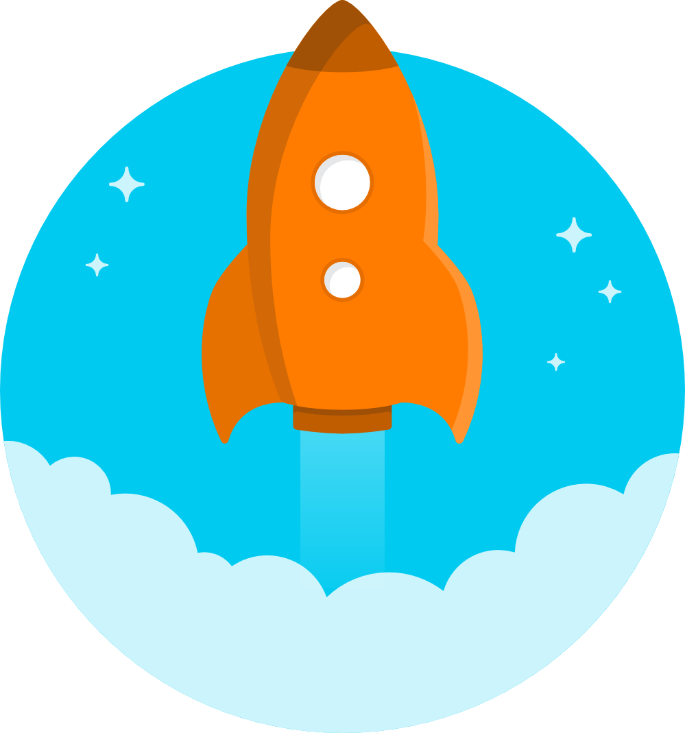 Galaxy space shuttle clip. Clipart rocket blue