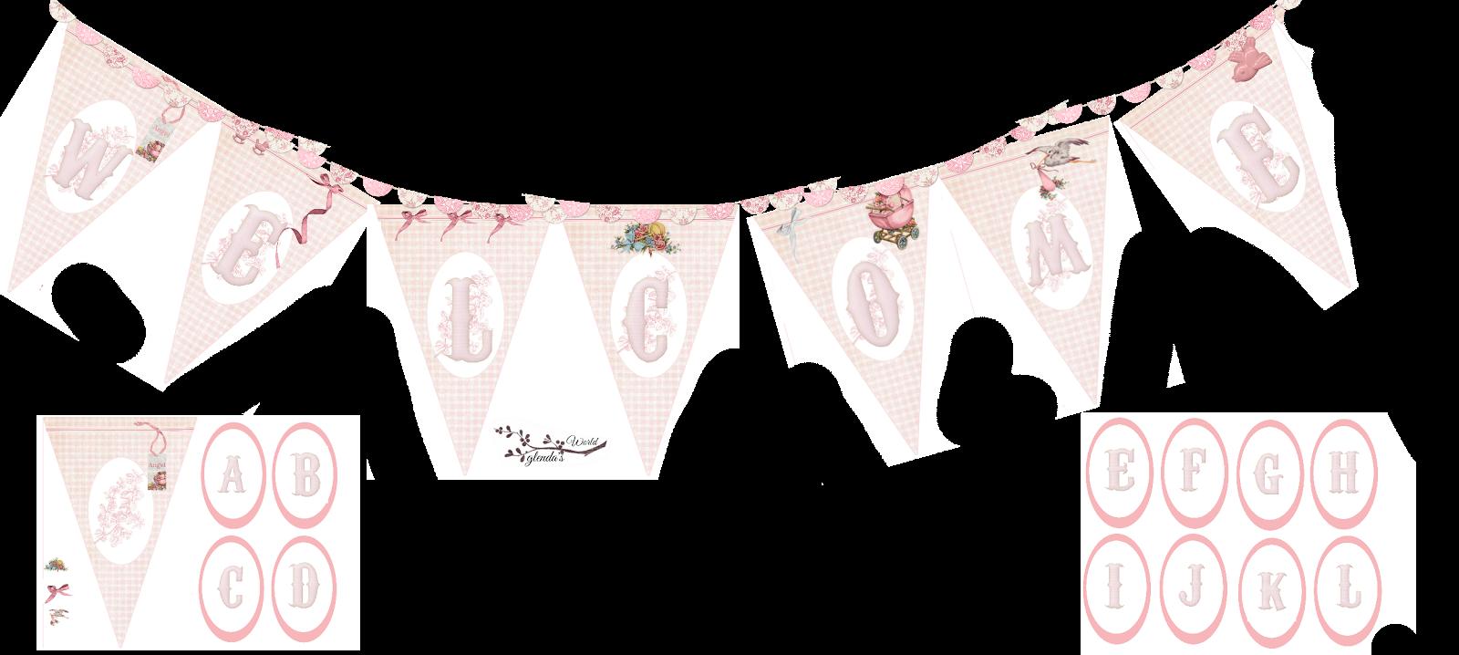 photo regarding Baby Girl Clip Art Free Printable titled Clipart banner boy or girl woman, Clipart banner boy or girl female