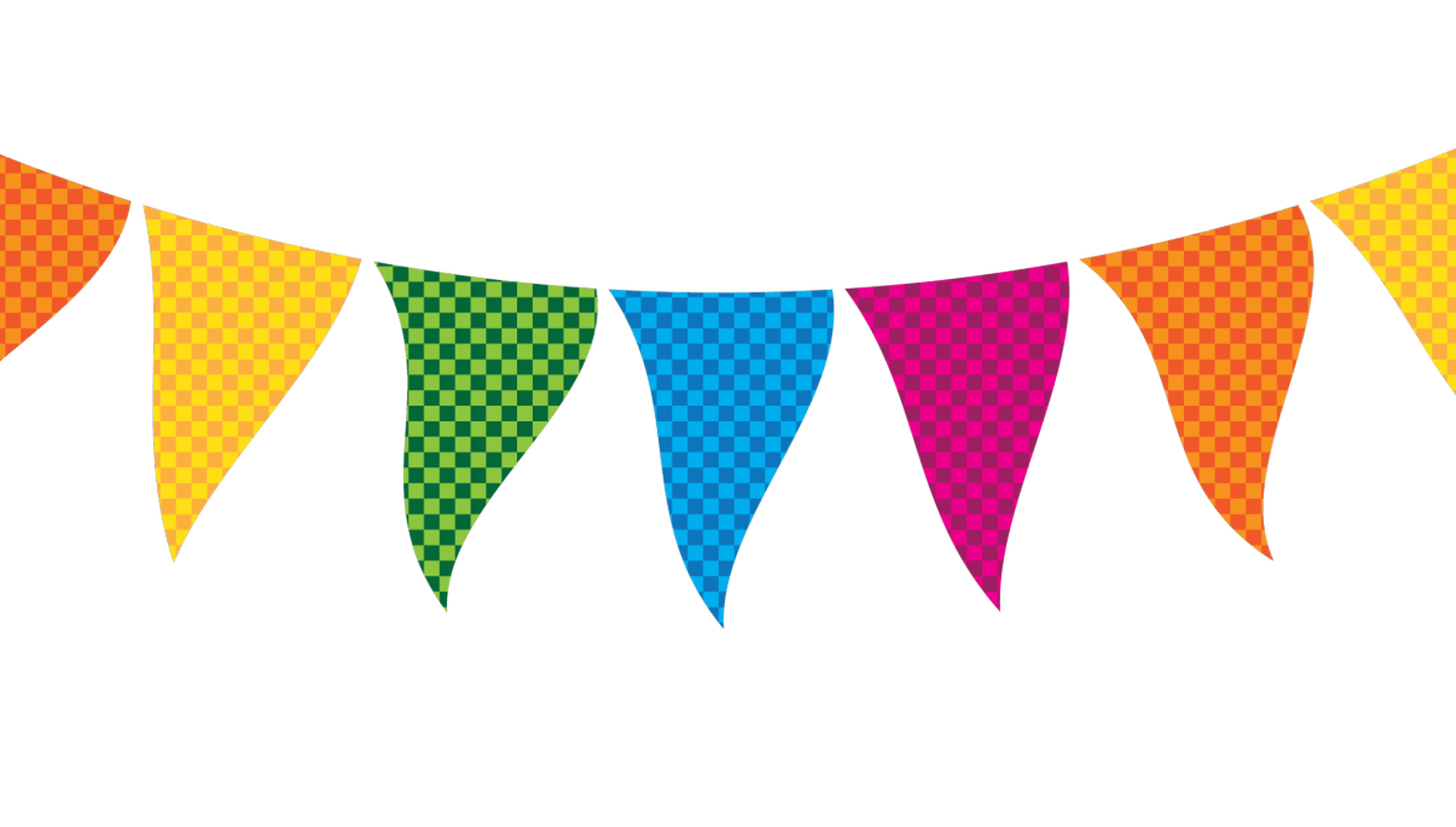 Party clipart party banner. Flag fall vintage star