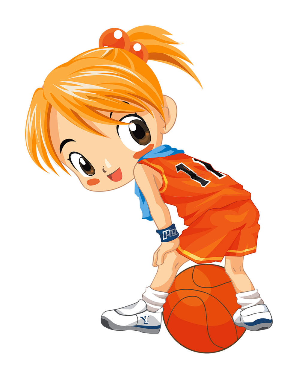 L minas infantiles y. Father clipart basketball