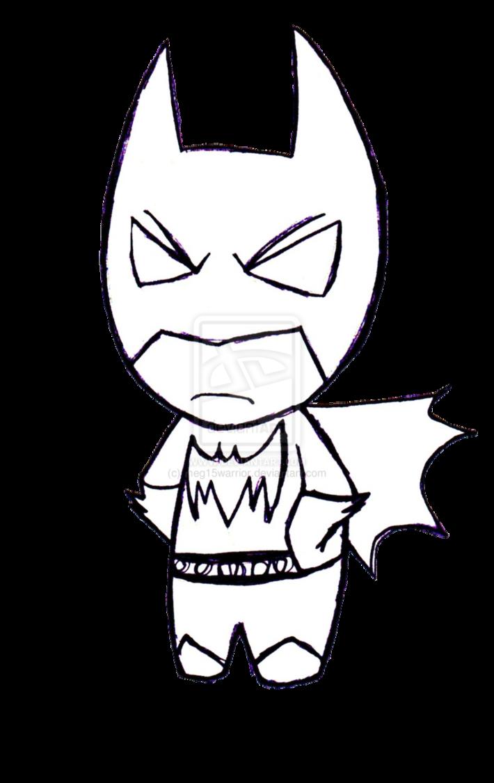 Coloring clipart superhero. Drawn batman baby pencil