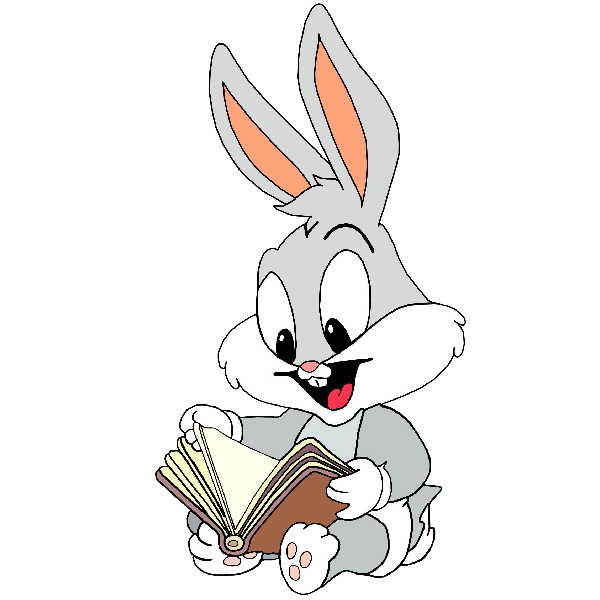 Looney tunes cartoon baby. Clipart bunny foot