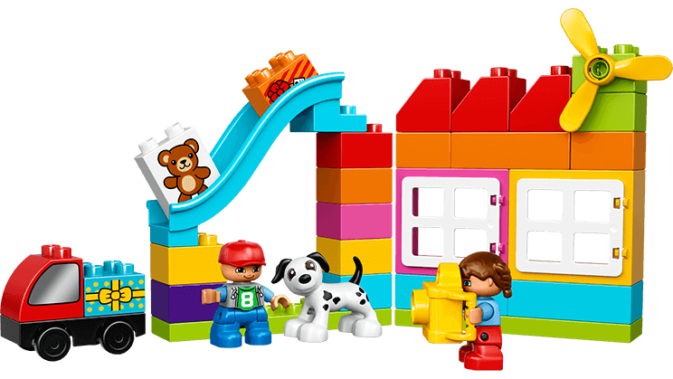Clipart toys construction toy. Lego duplo creative building