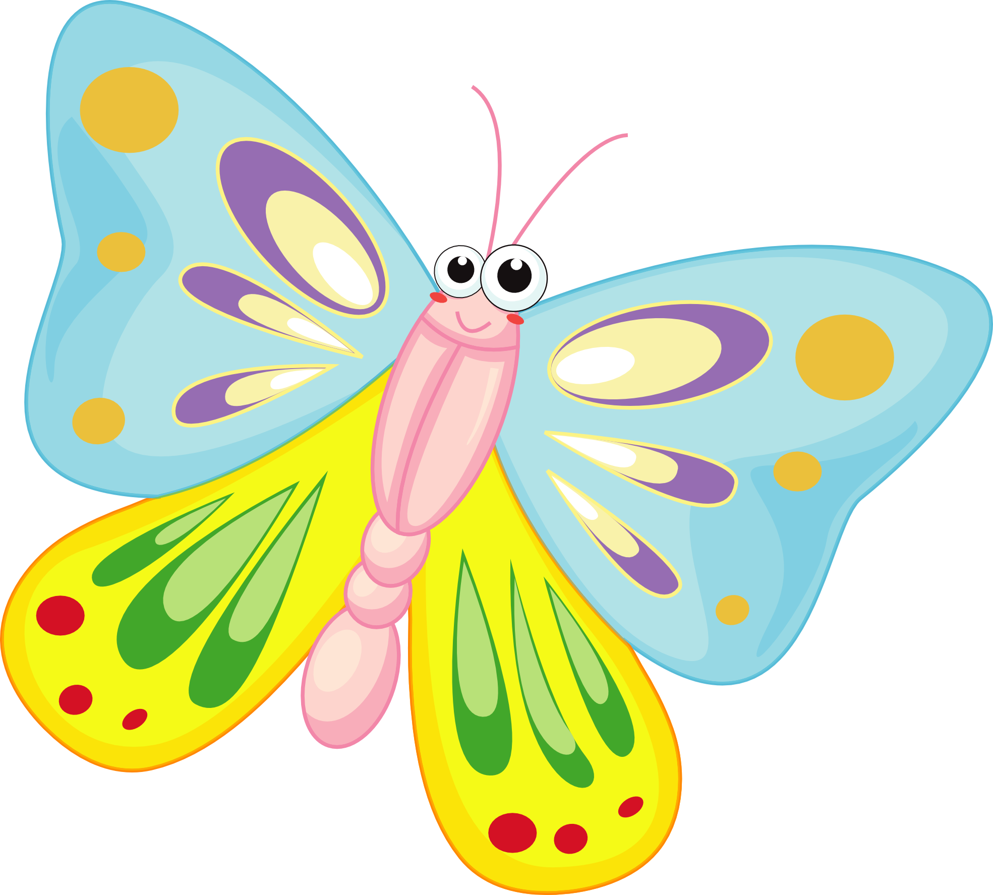 Butterflies cartoon group free. Grains clipart animated