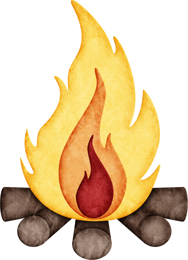 Jss happycamper canteen png. Fire clipart campfire