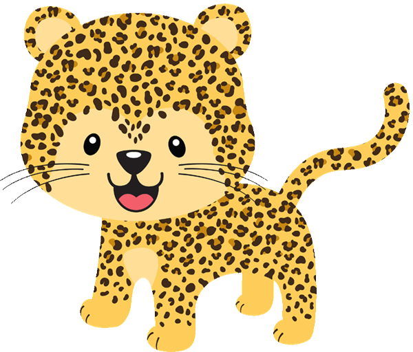 collection of baby. Clipart zebra theme jungle