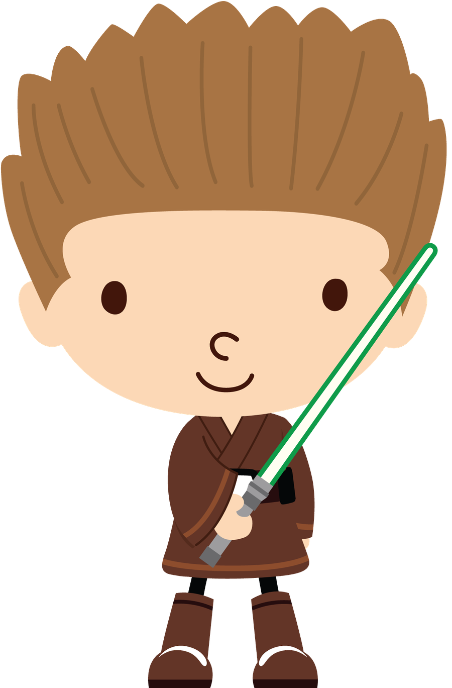 Pin by yazmin bg. Starwars clipart cute