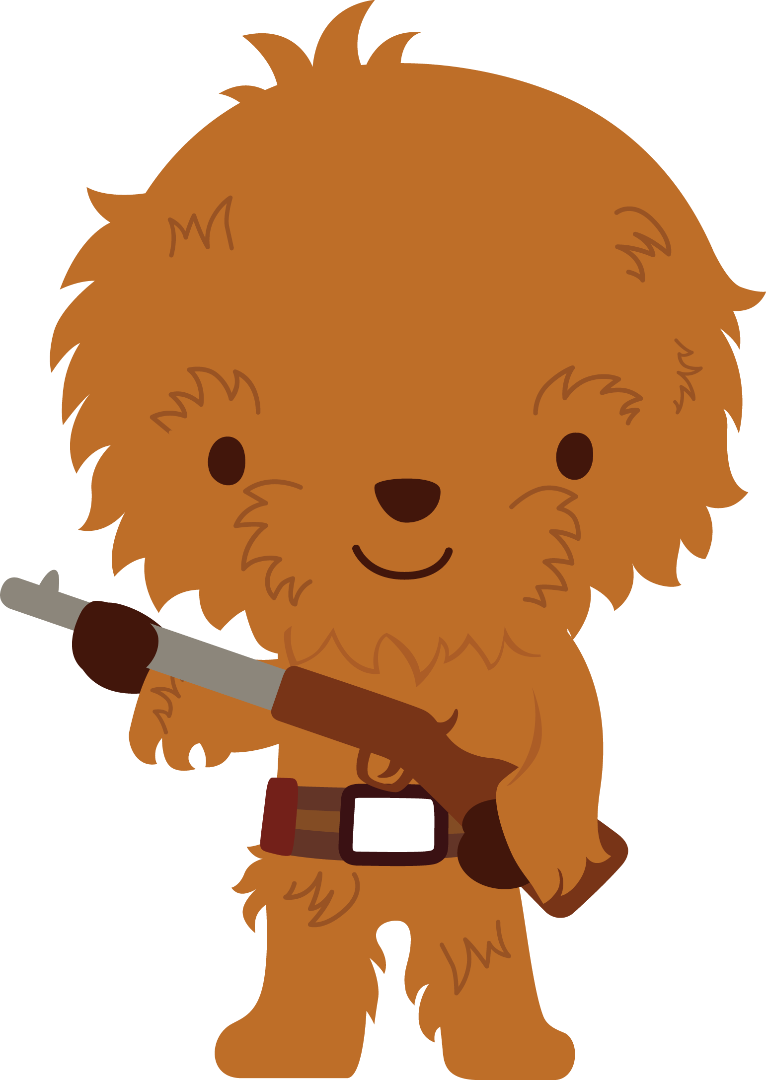 Chewbacca clipart baby. By chrispix d exb