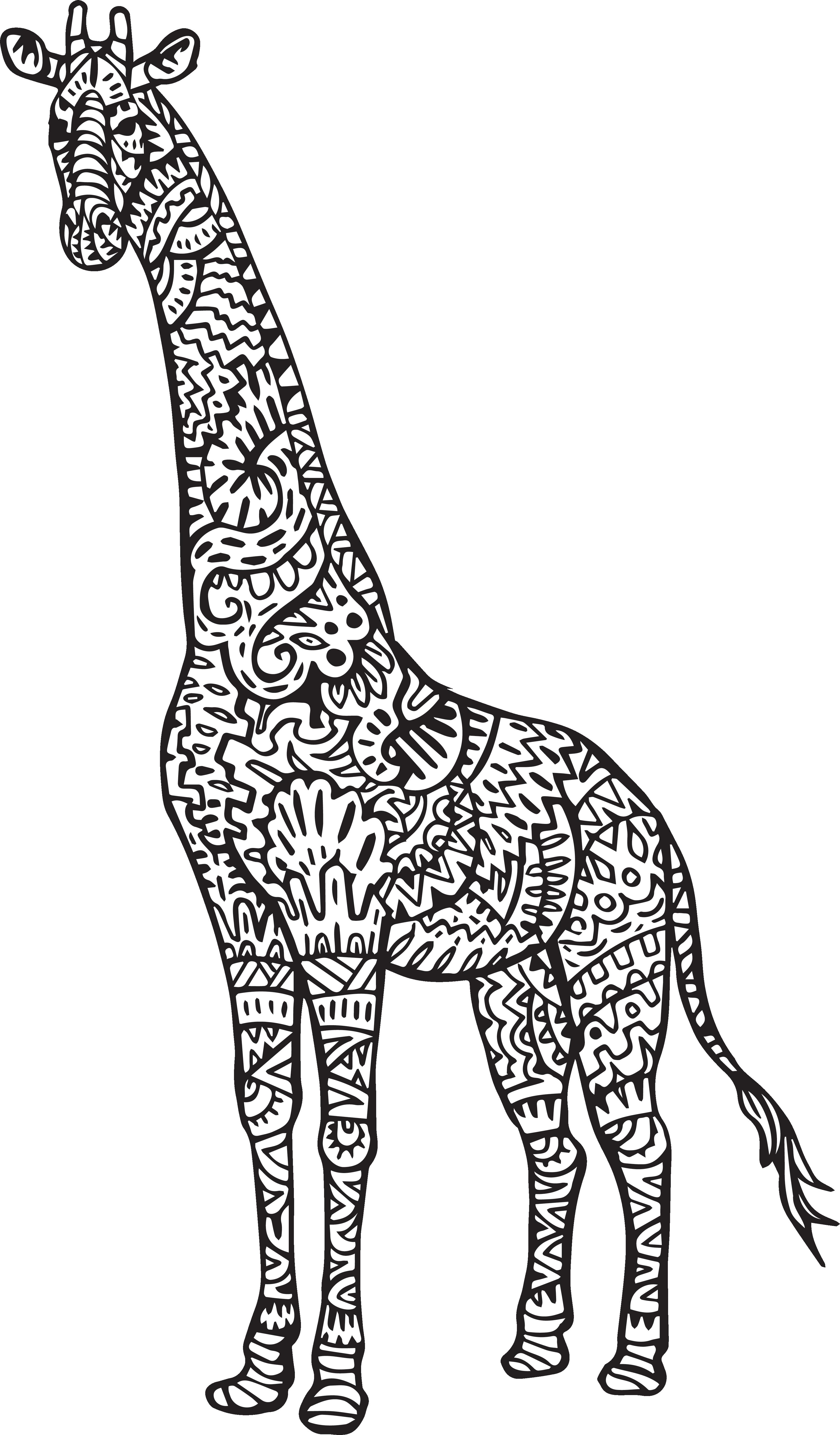 Coloring baby jokingart com. Family clipart giraffe