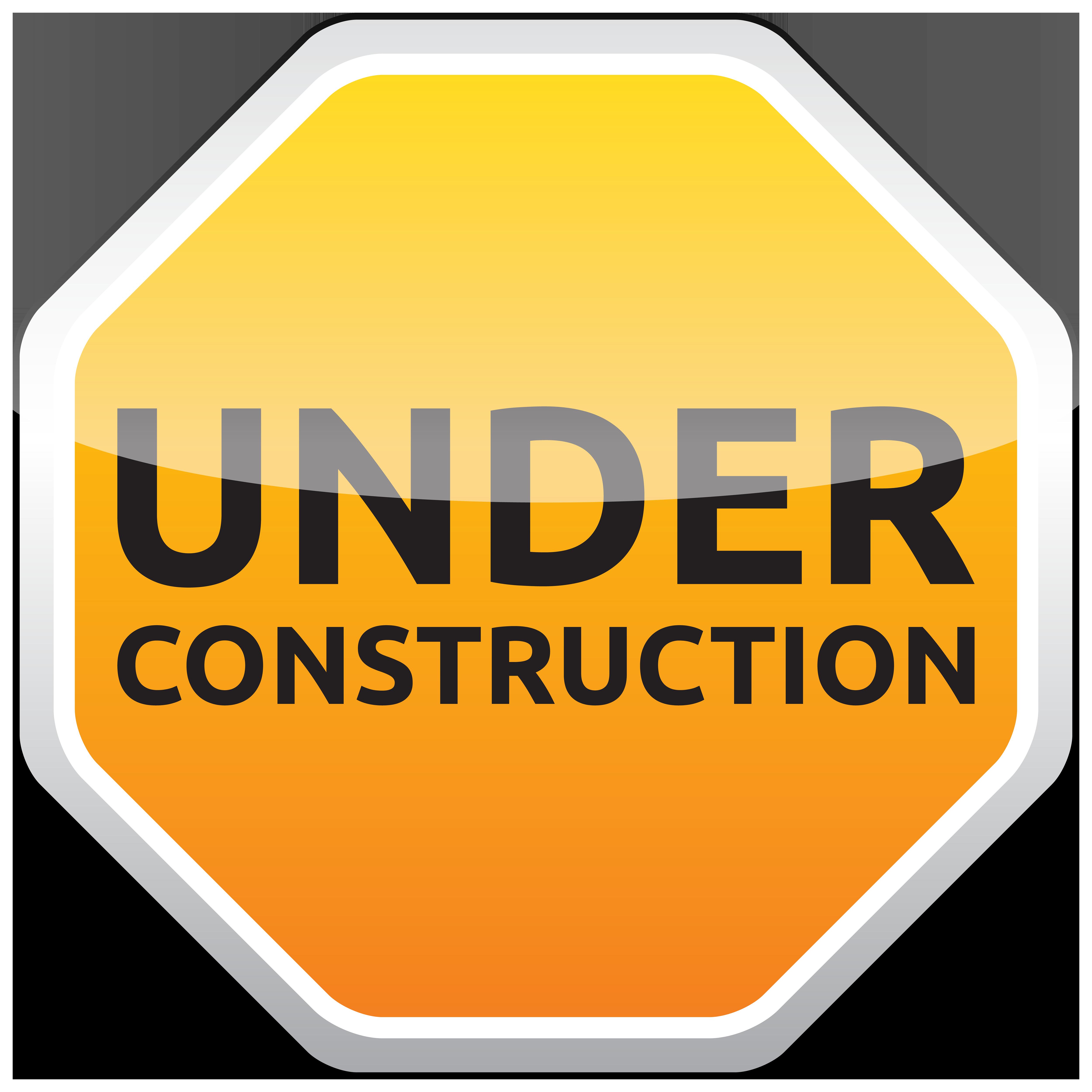Sign png best web. Website clipart under construction