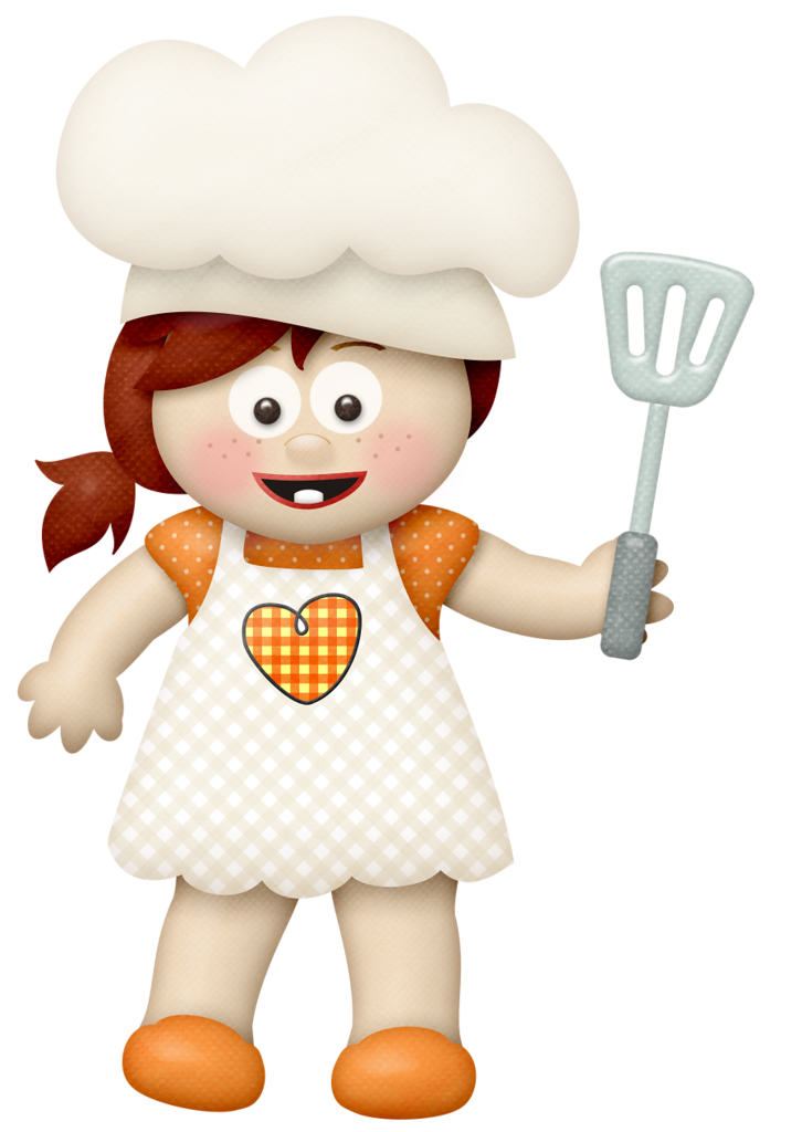 Lliella homecookedmeal girl b. Kitty clipart cooking