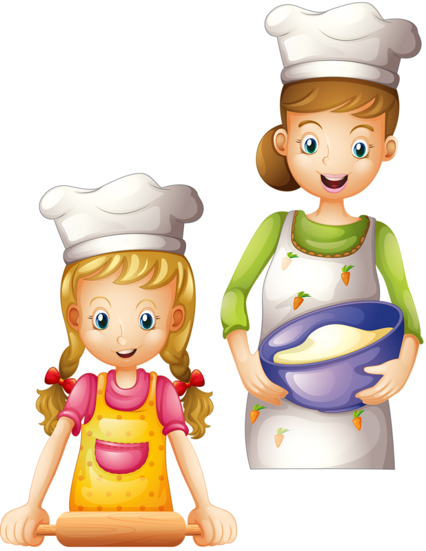 soloveika kitchen pinterest. Families clipart cooking