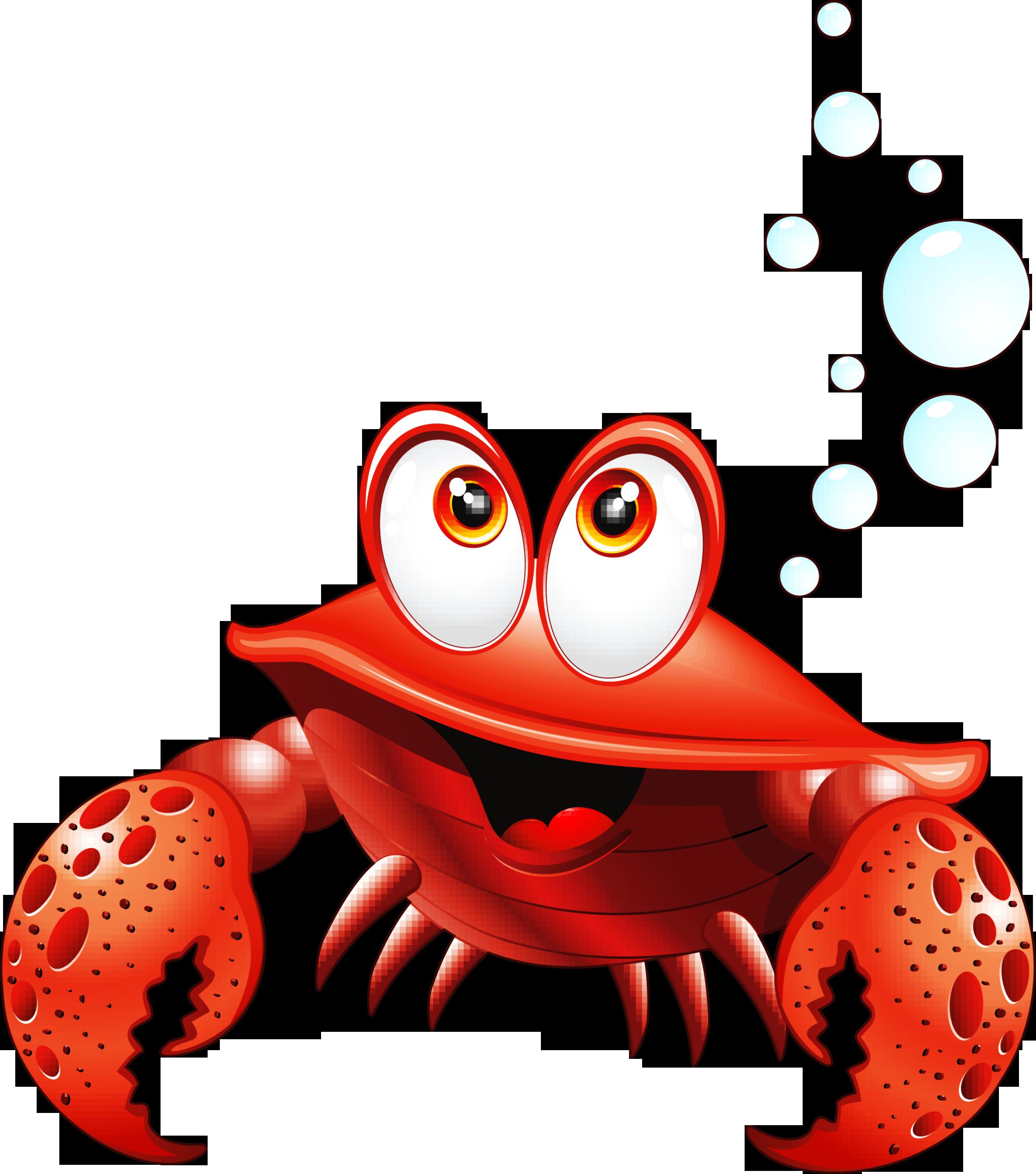 e a da. Crab clipart red thing