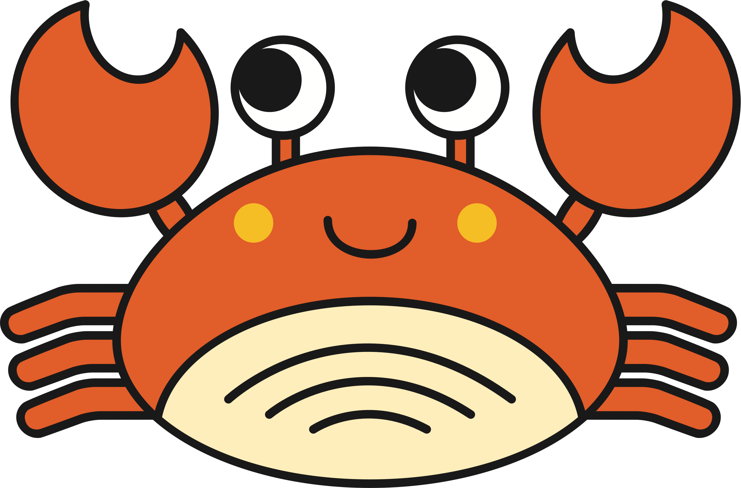 Crab clipart evil. Cute icons png free