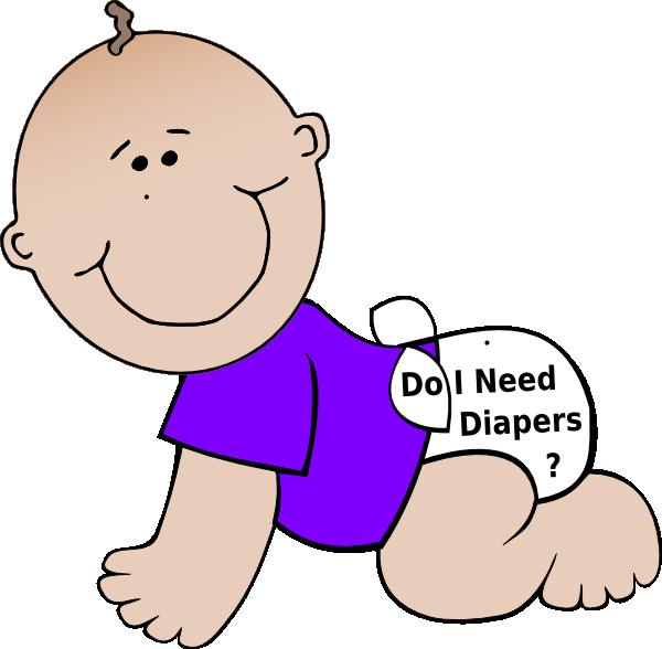 Diaper clipart walk. Baby diapers clip art