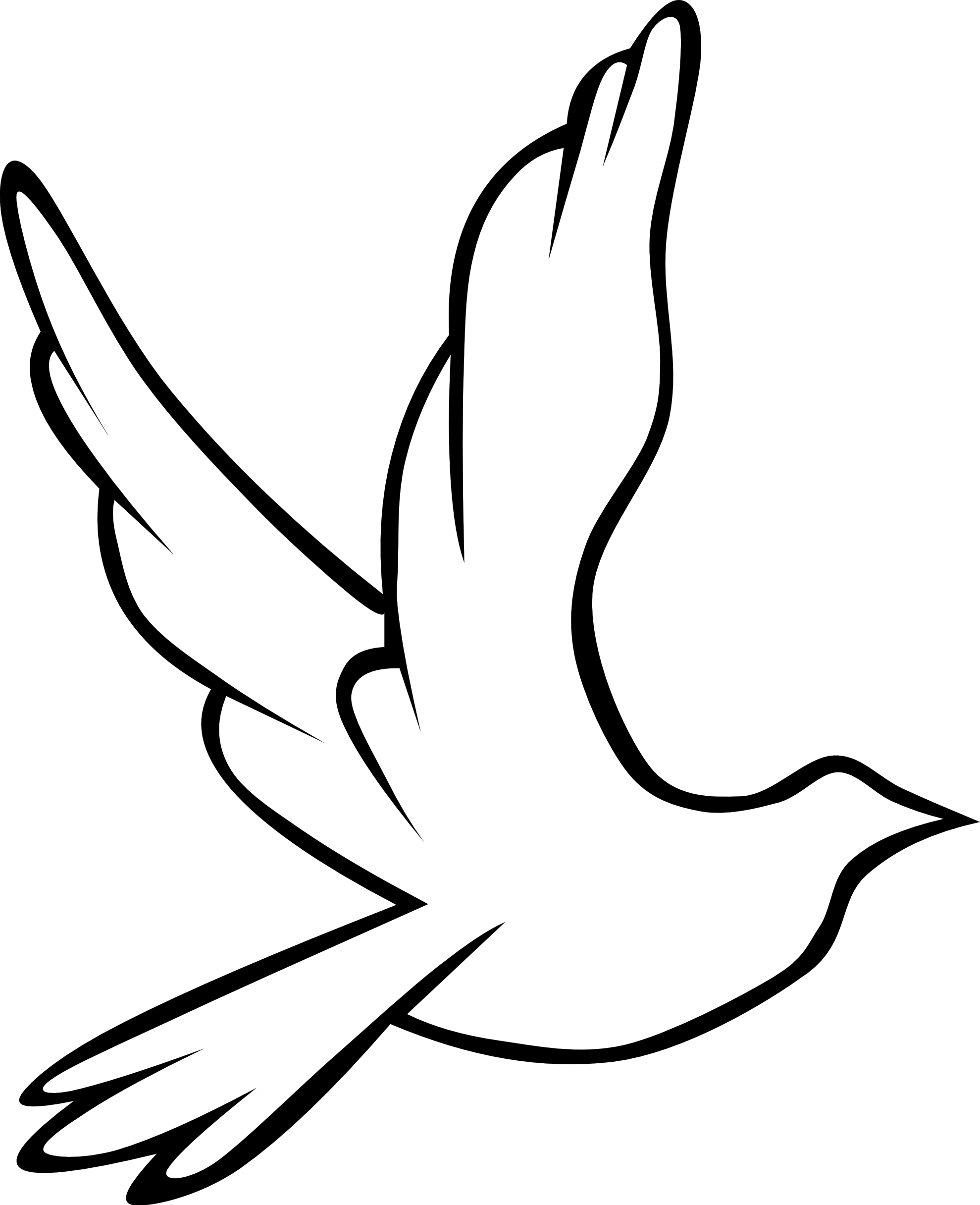 Fireman clipart black and white. Clip art peace dove
