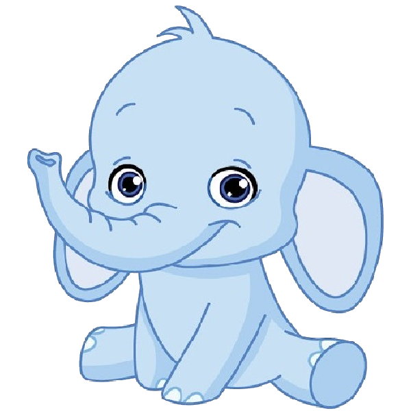 Cute funny baby images. Clipart elephant stencil