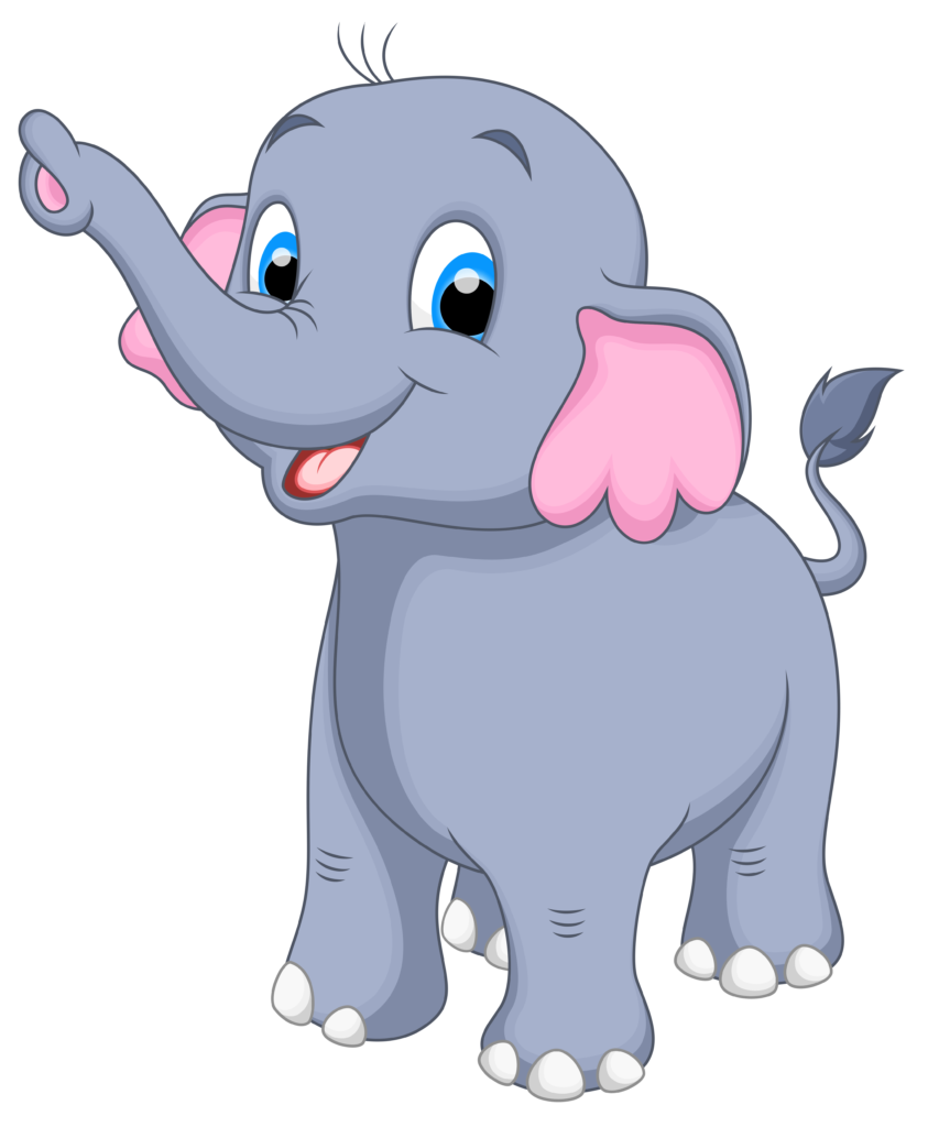 clipart baby elephant