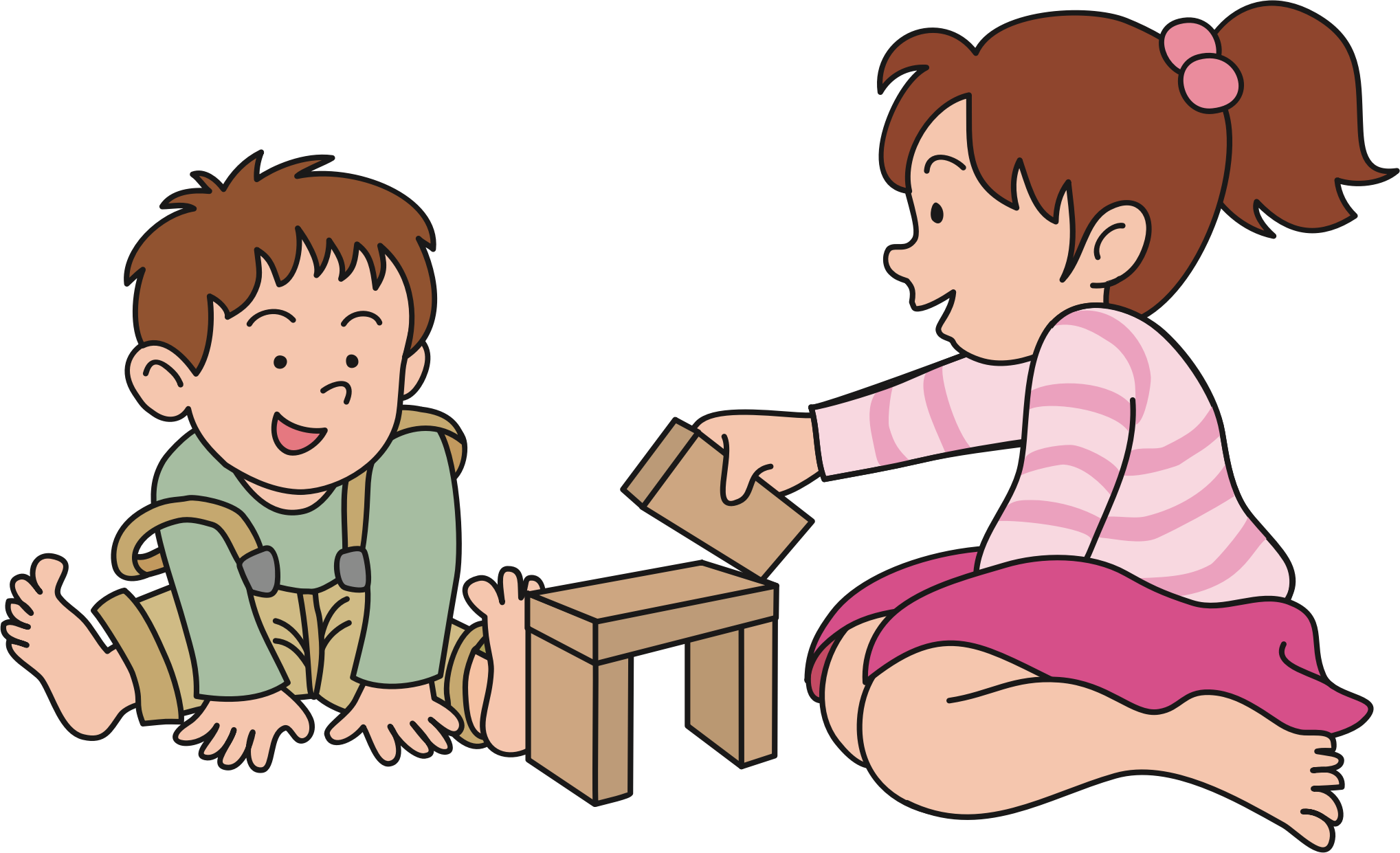 Infant clipart todler. Play child clip art