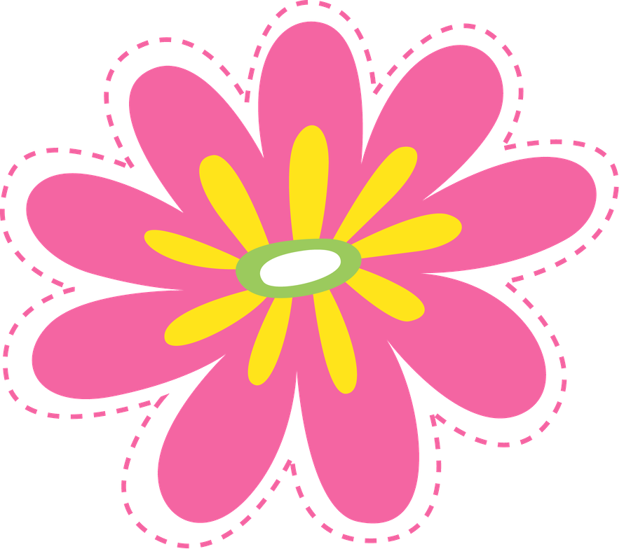 Flowers baby shower