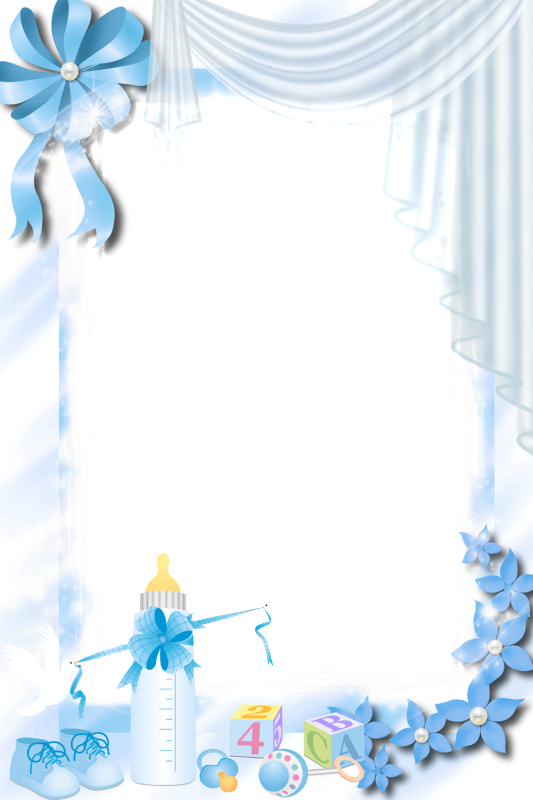 Transparent blue png gallery. Clipart frame baby girl