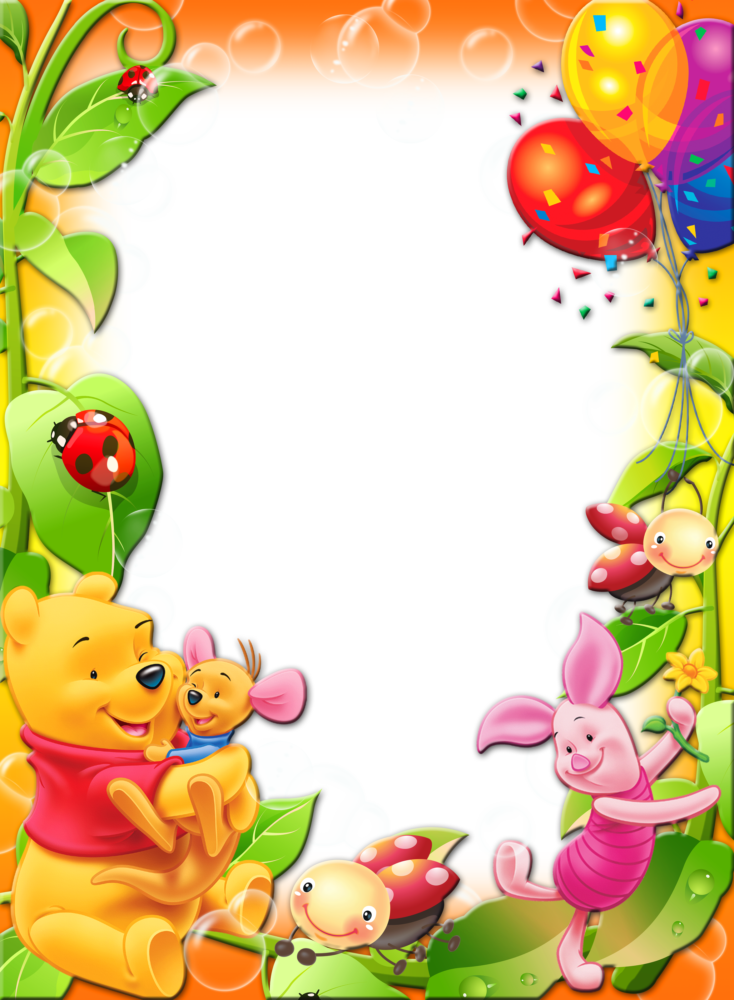 Clipart balloon winnie the pooh. With balloons kids transparent