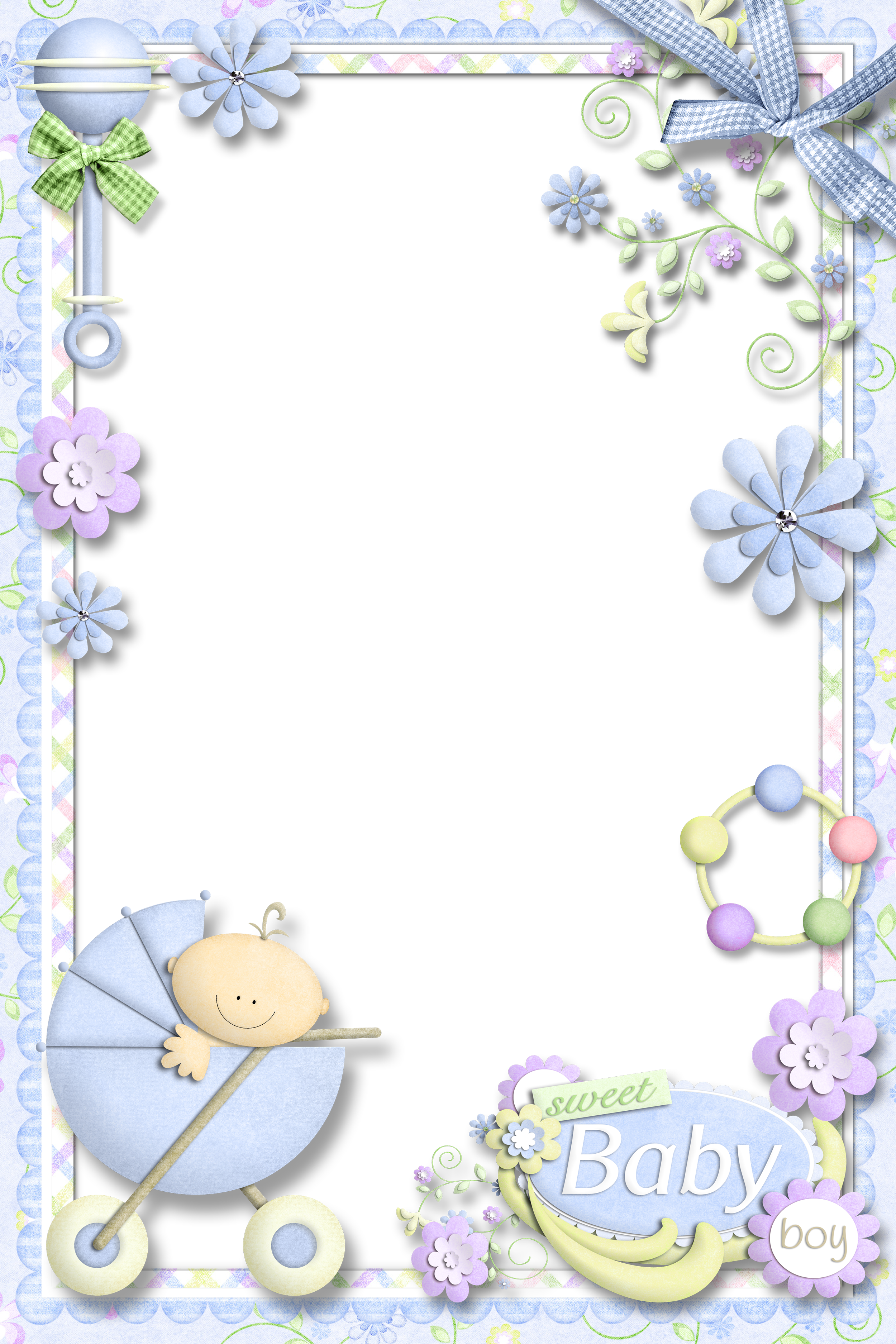 Photo for baby boy. Clipart gallery photograph frame