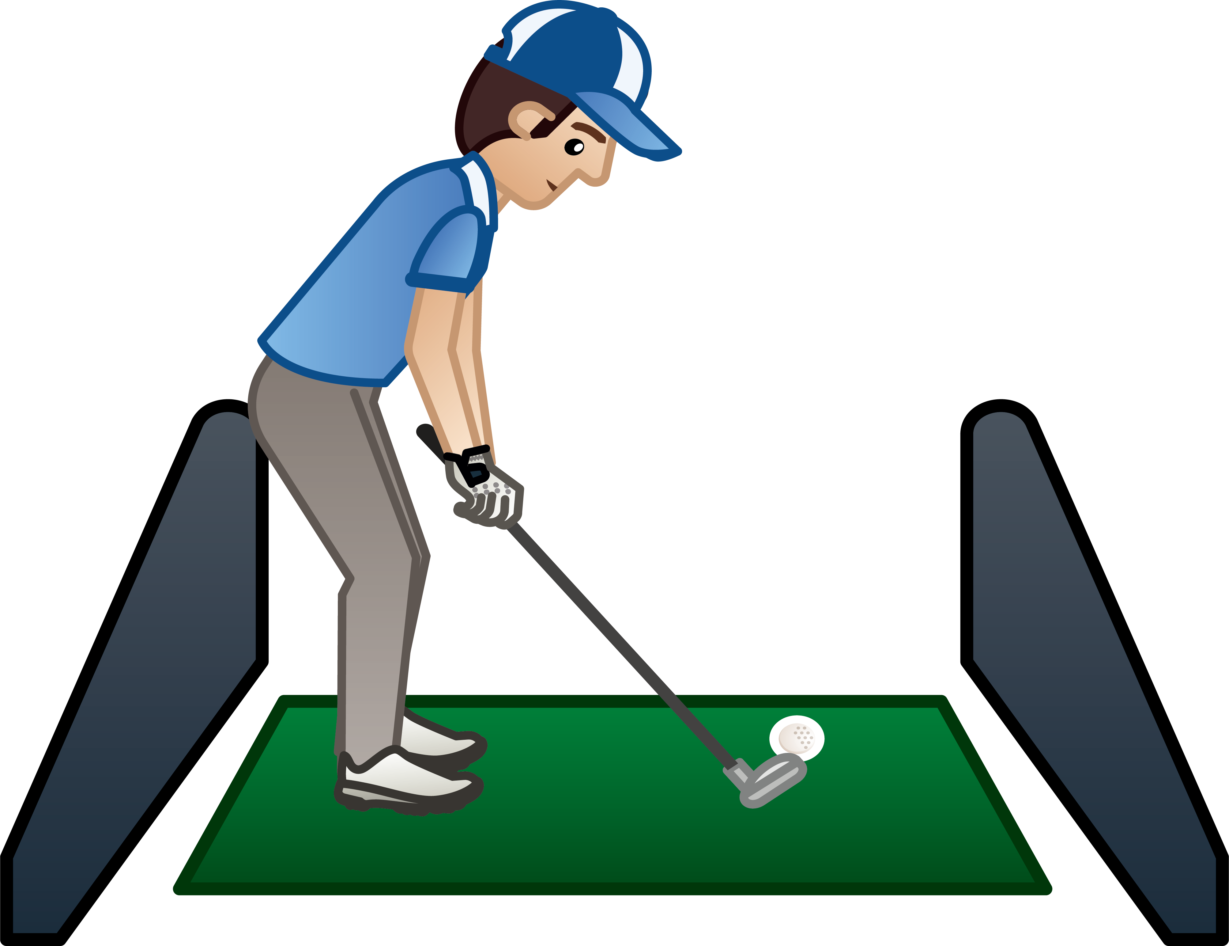 Golf at getdrawings com. Club clipart ball