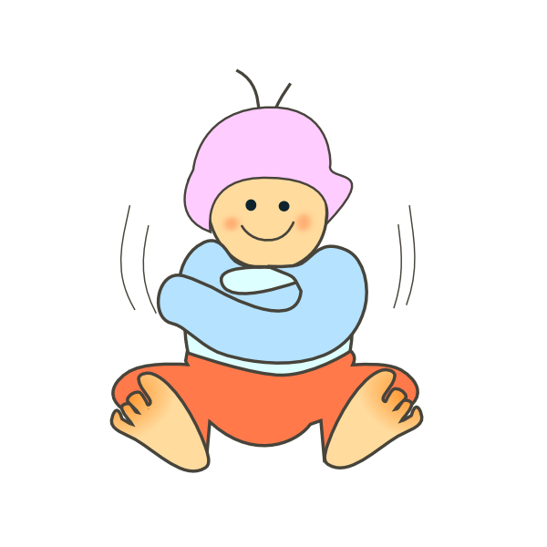 Boys clothes panda free. Winter clipart child