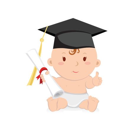 Cliparts x making the. Graduation clipart baby