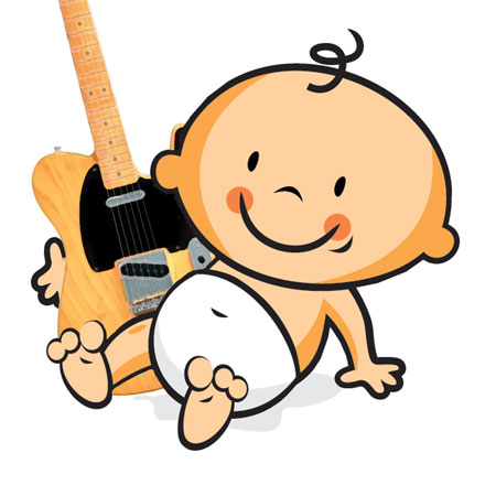 Clipart guitar baby. Steel stories pictures and