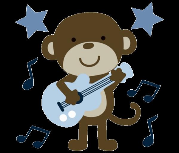 monkeys clipart baby boy